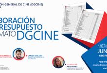 charla Elaboración de presupuesto formato DGCINE.