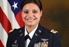 1era latina en pilotar un helicóptero de combate en EEUU es dominicana