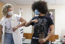 Camilo visita a Kimberly ministra de juventud