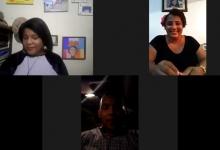 Adelaida Garcia (La Pequita) en JuveAccionRadio