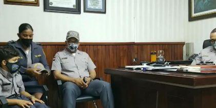 Policía Nacional cumple sueño a niño